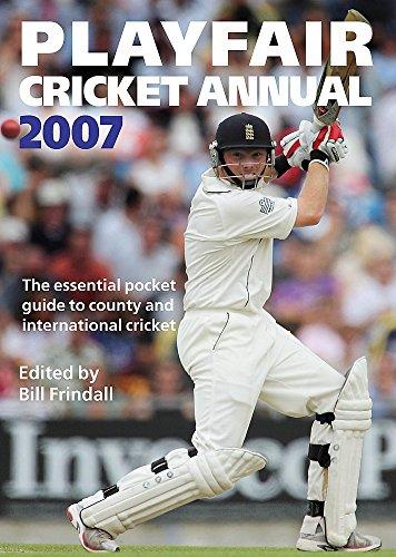 Playfair Cricket Annual 2007 por Bill Frindall