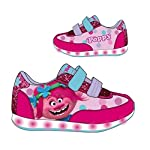 Zapatillas deportivas con luz Trolls Poppy- Talla 29