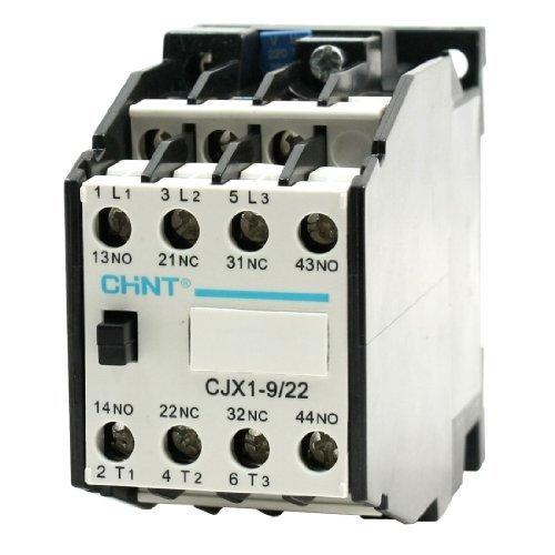 CJX1-9 / 22 AC Schütz 220V / 50Hz 264V / 60Hz Coil 3-Phasen-2 Öffner 2 Schließer