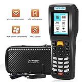Lettore Codice a Barre Wireless,Trohestar 1D Scanner di Codici a Barre Wireless Senza Fili Ricaricabile con Ricetrasmettitore RF a 2,4 GHz,Remoria da 4MB,Intervallo 50-200m per negozi di supermercati