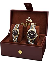 August Steiner Set de 2 relojes AS8201TTG
