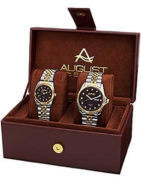 August Steiner Unisex-Armbanduhr As8201Ttg Analog Quarz