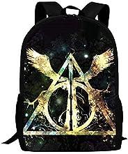 Ha-rry Po-tter Kids Backpack Unique Bookbag Waterproof Travel Backpacks School Bags for Boys Girls