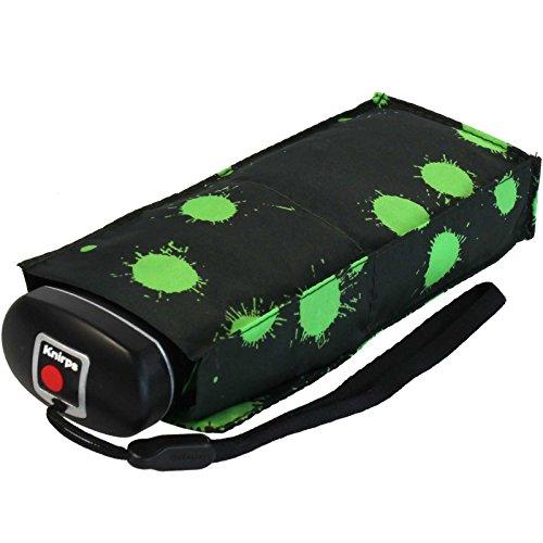 knirps-regenschirm-mini-taschenschirm-travel-klein-leicht-paint-drops-green