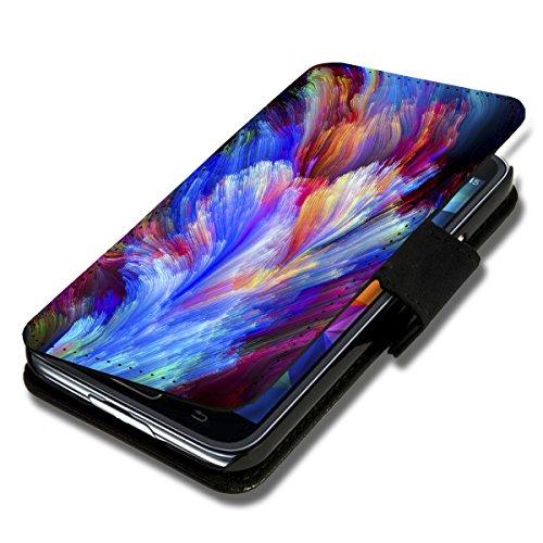 Book Style Flip Handy Tasche Case Schutz Hülle Schale Motiv Etui für Apple iPhone 6 - 4,7 Zoll - Flip 1A52 Design1 Design 4