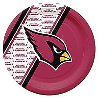 NFL Arizona Cardinals Disposable Paper Plate (20-Pack)