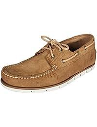 bc3a69c37c2 Amazon.co.uk  Beige - Boat Shoes   Men s Shoes  Shoes   Bags