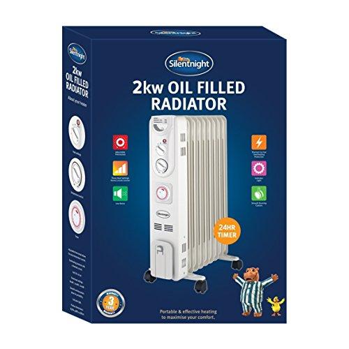 515nODw4MJL. SS500  - Silentnight 38160 Oil Radiator, 2000 W