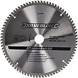 Silverline 244964 - Disco de TCT para madera contrachapada, 80 dientes (250 x 30 - anillos de 25, 20 y 16 mm)