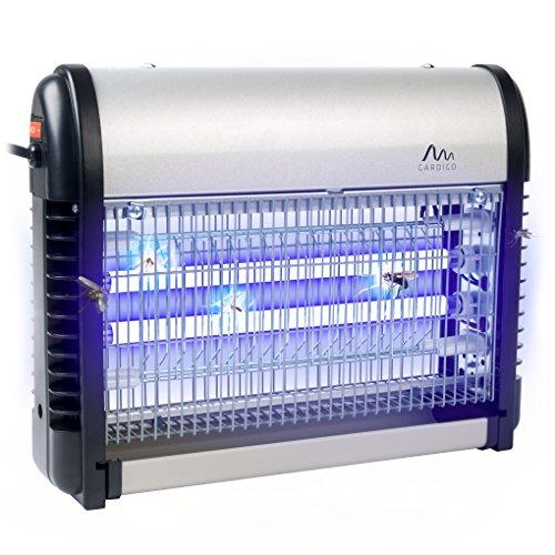 Gardigo Destructeur d'insectes volants électrique; Pièges à insectes; Lampe UV Anti-mites, moustiques, mouches et moucherons; Désinsectiseur