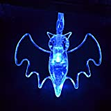 Halloween String Lights Art Beauty Blue Bat Decorative LED Light Decoration Party favors Decor Set of 20 Battery Operated