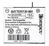 Compex 941210 Batterie standard Ni-MH, 4H-AA 1500 à 4 cellules, Bleu