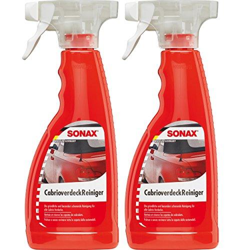 2-x-500-ml-sonax-capota-limpiador-cabrio-carbriov-erdeck-capota-limpiador