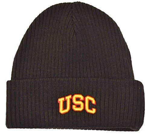 ncaa-usc-cuffed-beanie-black-knit-hat-by-ccs