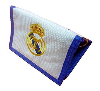 Offiziell Lizensierte Original Fc Real Madrid Geldbörse Geldbeutel Mit Kette – Lizensierter Real Madrid Fanartikel 0