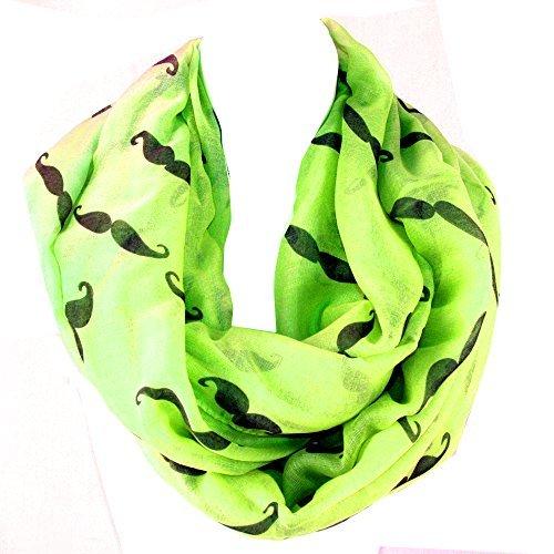 silver-fever-bufanda-para-mujer-multicolor-verde-neon