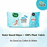 Mother Sparsh Baby Water Wipes, 80 Wipes