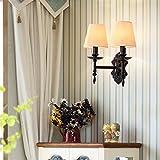 Anbiratlesn Modern Wandleuchten E27 Antik Wandlampe Vintage Rustikal Wandlampe für Schlafzimmer Wohnzimmer Bar Flur Badezimmer Küche Balkon Innen Lampe Balkon Grundriss Wandleuchte