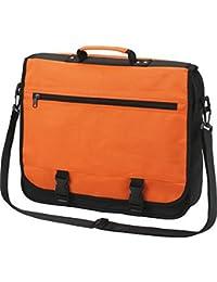 HALFAR - sac sacoche bandoulière étudiant BUSINESS 1800775 - orange - mixte homme / femme -
