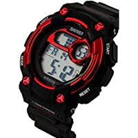TTLIFE 1054 Quarzo Unisex Multi Function Digital LED Watch Water Resistant elettronici Orologi sportivi