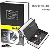 Pindia Dictionary Book Style Jewellery Money Safe Cash Box Locker