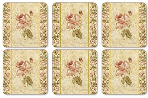 Pimpernel Antique Rose Linen Untersetzer 6 Stück (s)