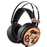Die besten Budget Kopfhörer - WOFEIYL Black Gear 3,5 mm Stereo-Gaming-Kopfhörer, Bass-Kopfhörer, Komfortable Bewertungen