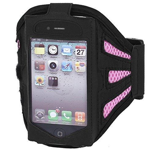 Sport-laufende Armband Fall Inhaber Pink Schwarz für iPod nano der 5. Generation 5g (Generation 5 Ipod Fall)