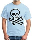 OM3 - Skull T - Shirt Punk Rockabilly Gothic Dead Metal