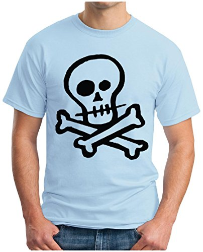 OM3 - Skull T - Shirt Punk Rockabilly Gothic Dead Metal