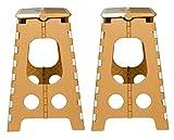 #6: Logic Pick n Move Stool, Set of 2 (Beige and Brown)