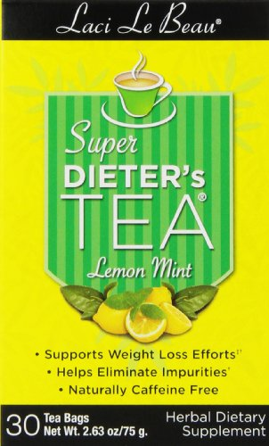 Natrol Super Dieter's Tea Lemon Mint (30 Tea Bags)