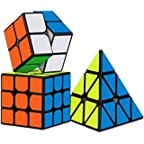 D Eternal Rubiks Cube 2X2 3x3 And Pyraminx Triangle Rubix Cube High Speed Magic Rubick Rubic Cube Brainstorming Puzzle Cube Combo Game Toy