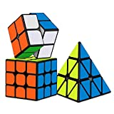 #9: D Eternal Rubiks Cube 2X2 3x3 and Pyraminx Triangle Rubix Cube high Speed Magic Rubick Rubic Cube Brainstorming Puzzle Cube Combo Game Toy