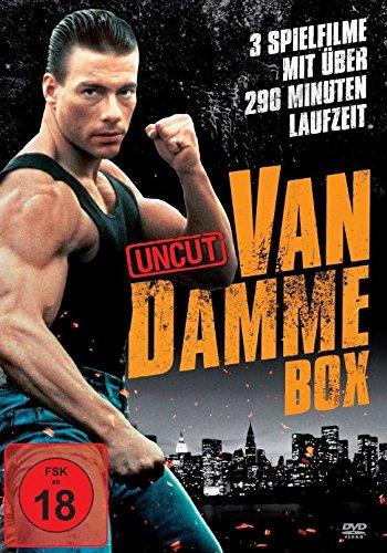 Van Damme Action-Box (3 Filme-Uncut-Edition)