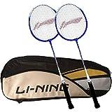 [Sponsored]Li-Ning ABDK122 Smash XP 707 Combo (Li-Ning ABDK122 Badminton Kitbag + Li-Ning 707 Badminton Racquet, Set Of 2) - Black Bag