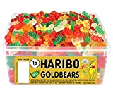 Haribo Goldbären Tub Retro Kids Sweets - 600 der