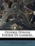 Telecharger Livres Oeuvres D Fanne Th R Se de Lambert (PDF,EPUB,MOBI) gratuits en Francaise