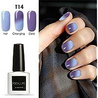 BBestseller Cambio de temperatura de esmalte de uñas Manicura Gel UV Uñas de Gel Ojo de