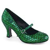 Higher-Heels Funtasma Damen Meerjungfrau Schuhe Mermaid-70 grün Gr.39 EU