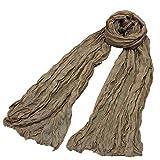 Damen-Halstuch leicht uni einfarbig dünn unifarben Schal weich Sommerschal Übergangsschal,Schal-Mode-Retro- weiblicher Vielzweckschal-Schal