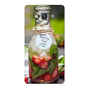 Enticing Strawberry and Basil Multicolor Back Case Cover for Galaxy Grand Max