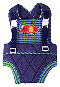 Mothertouch Baby Carrier (Blue/Green)