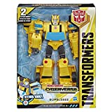 Transformers Cyberverse - Robot action Bumblebee Voiture 30cm - Jouet transformable 2 en 1