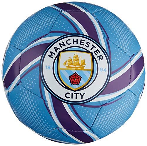 Puma MCFC Future Flare Mini Ball Balón de Fútbol, Adultos Unisex, Team Light Blue-Tillandsia Purple...