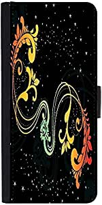 Snoogg Creative Artwork With Shiny Background Designer Protective Flip Case C...