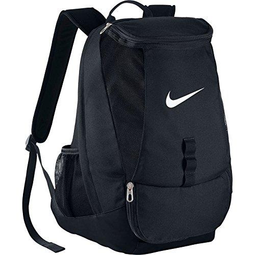 Nike Club Team Swoosh, zaino, Unisex, Rucksack Club Team, nero / bianco, MISC