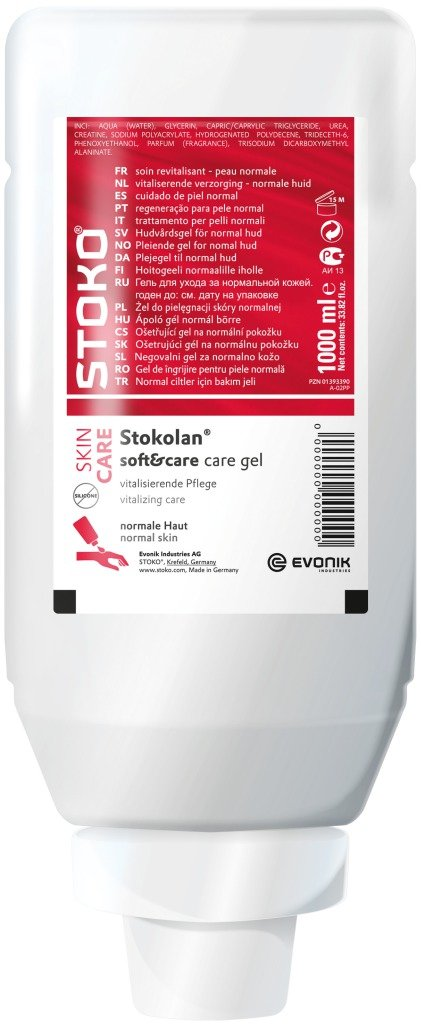 Stoko Stoko® flexibles & Care Crema Cuidado Facial y manos 31841 1 L