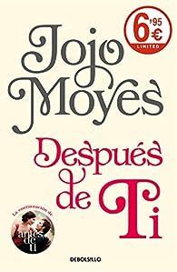 Después de ti par Jojo Moyes