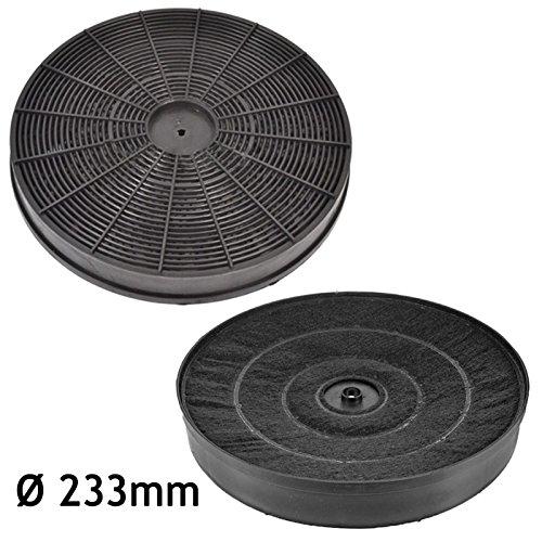 Spares2go - Filtro de ventilación de carbono activado para campana extractora AEG...